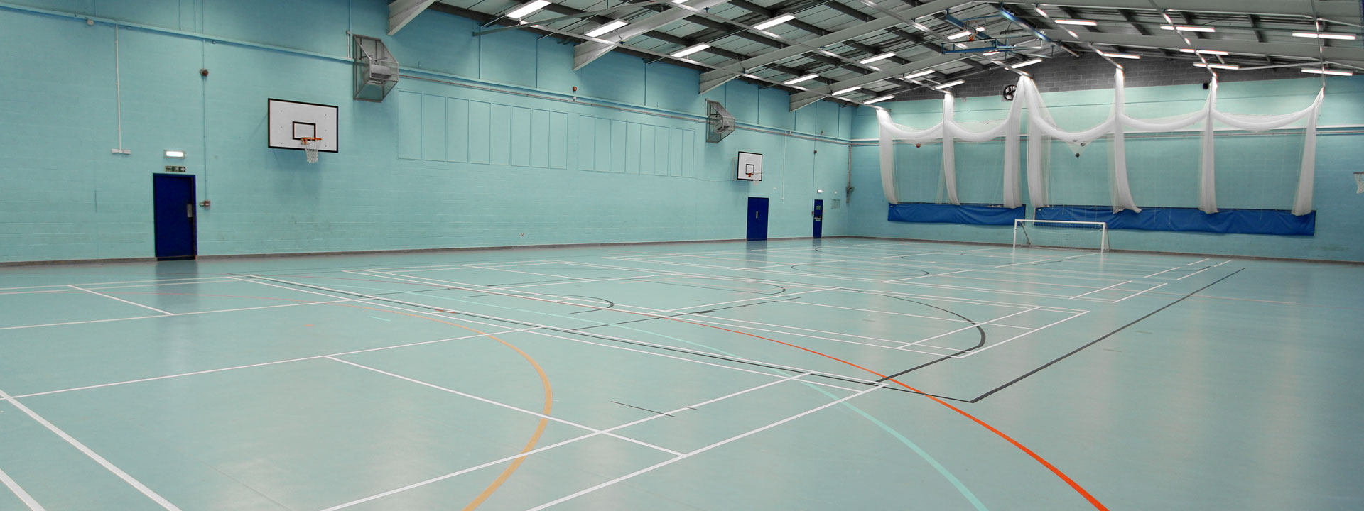 Sports Centre Facilities Available for Hire